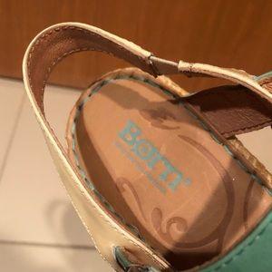 Born Shoes - Born Aqua Wedges